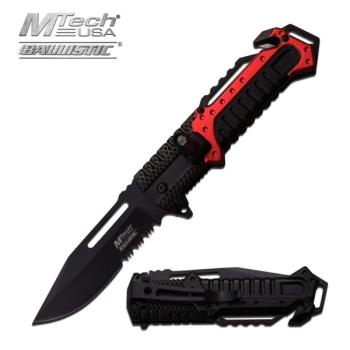 MTech --A933RD SPRING ASSISTED KNIFE 5 inch CLOSED (MC-MT-A933RD)