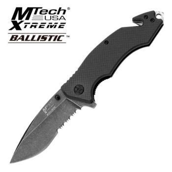 MTech USA XTREME MX-A808BK SPRING ASSISTED KNIFE (MC-MX-A808BK)