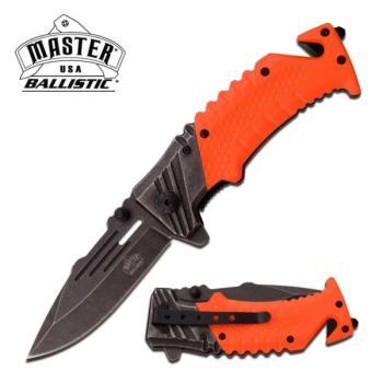 MASTER USA MU-A028OR SPRING ASSISTED KNIFE (MC-MU-A028OR)