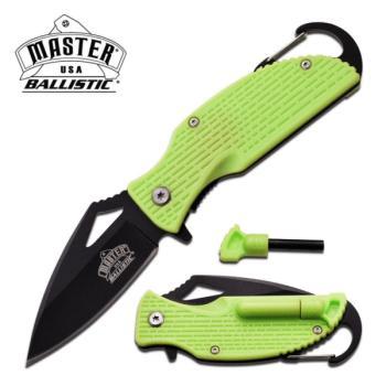 MASTER USA MU-A027GN SPRING ASSISTED KNIFE 3.75 inch CLOSED (MC-MU-A027GN)