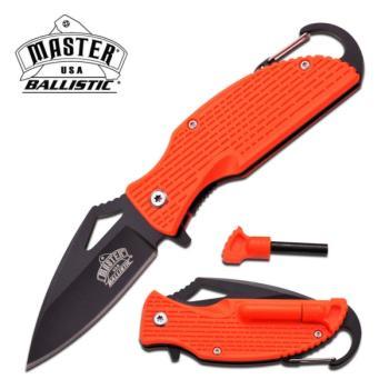 MASTER USA MU-A027OR SPRING ASSISTED KNIFE 3.75 inch CLOSED (MC-MU-A027OR)
