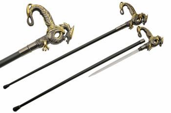 36 inch DRAGON CANE SWORD (SZ-SZ926912)