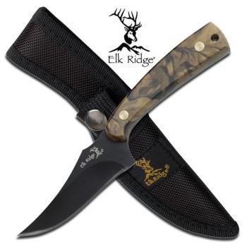 Elk Ridge ER-299C FIXED BLADE KNIFE 7 inchOVERALL (MC-ER-299C)