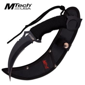 MTECH USA MT-20-76BK FIXED BLADE KNIFE 9.84 inch OVERALL (MC-MT-20-76BK)