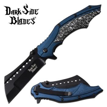 DARK SIDE BLADES DS-A079BL SPRING ASSISTED KNIFE (MC-DS-A079BL)