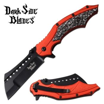 DARK SIDE BLADES DS-A079RD SPRING ASSISTED KNIFE (MC-DS-A079RD)