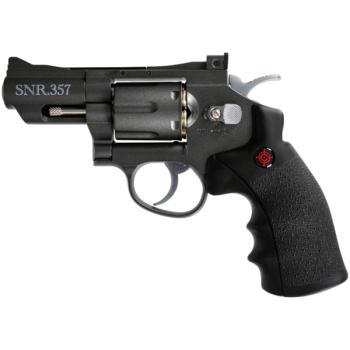 "Crosman""Snub Nose Revolver"" All Metal - CO2 Powered (CN-SNR357)"