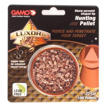 "Gamo""Luxor Hunting"" Pellets 0.22 Caliber (100 Count) (GA-632282154)"