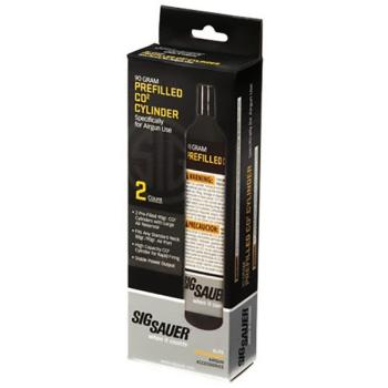 Sig Sauer 90 Gram CO2 Cylinders (2 count) (SS-AC902)