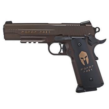 """Sig Sauer 1911 Spartan""""MOLON LABE"""" Air Pistol - CO2 Powered (SS-AIR1911BBSPARTAN)"""