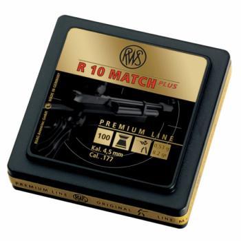 Umarex R10 Match + Premium Line .177 8.2 G Pellets (500 Ct) (UX-2315012)