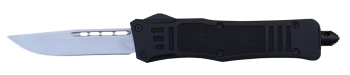 Delta Force - OTF Drop Point Black Medium (DE-DFMDPBK)