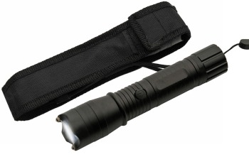 """SG-26002BL - 7"""" BLACK KWIK FORCE FLASHFIRE STUN GUN (SZ-SG-26002BK)"""