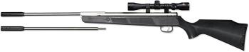Beeman Sportsman Silver Kodiak X2 1077SC Dual Caliber Air Rifle Combo  (BE-1077SC)