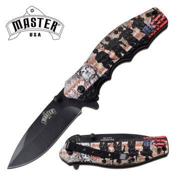 MASTER USA MU-A104ML SPRING ASSISTED KNIFE (MU-MU-A104ML)