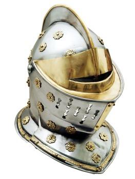 GOLDEN KNIGHT HELMET (SZ-SZ910899)