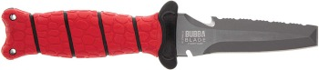 """BUBBA 4"""" Blunt Tip Dive Knife with Non-Slip Grip Handle (BB-BB1-1107809)"""