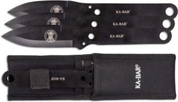 KA-BAR Throwing Knife Set (KB-KB1121)